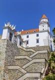 Bratislava-Schloss, Slowakei Stockbilder