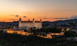 Bratislava-Schloss XI lizenzfreies stockbild