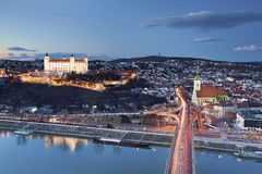 Bratislava, Sistani. Zdjęcie Stock