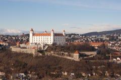 bratislava slott Arkivbild