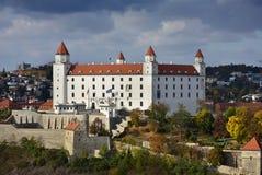 Bratislava slott för storm Arkivbild