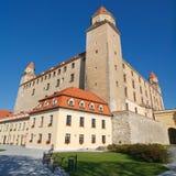 bratislava slott historiska slovakia Arkivfoto