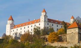 bratislava slott slovakia Royaltyfri Bild