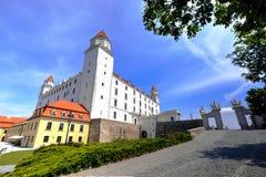 bratislava slott slovakia Royaltyfria Bilder