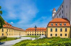 bratislava slott slovakia Royaltyfri Fotografi