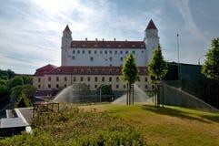 Bratislava slott - Slovakien Royaltyfria Bilder