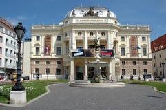 Bratislava - slovak national theater Stock Image