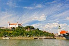 bratislava slovakia Arkivfoton