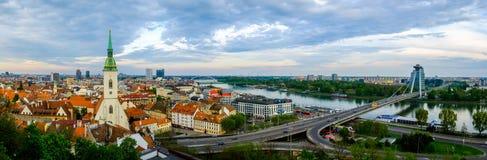 Bratislava, Slovakia day time landscape Stock Image