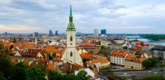 Bratislava, Slovakia day time landscape Stock Photos