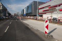 BRATISLAVA, SLOVAKIA - MARCH 15: Stadium Stock Photography