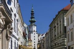 Bratislava - Slovakia - Michael's Gate Royalty Free Stock Photo