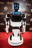 Robot Matthew demonstrates its skills