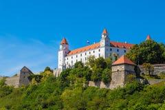 Bratislava Slovakien Arkivfoto