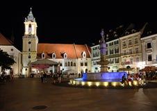 Bratislava Slovakien Arkivfoton