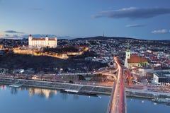 Bratislava Slovakien. Arkivfoto