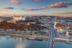 Bratislava Slovakien. Royaltyfria Foton