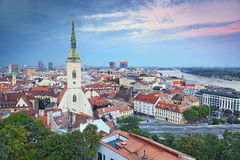 Bratislava, Slovaquie Images libres de droits
