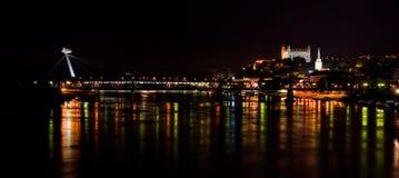 Bratislava in Slowakije Stock Afbeeldingen