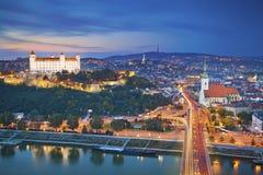 Bratislava, Slowakije stock fotografie