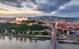Bratislava, Slowakije Royalty-vrije Stock Afbeeldingen