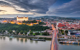 Bratislava, Slowakije Royalty-vrije Stock Foto's