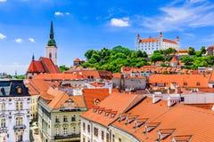 Bratislava, Slowakije Stock Afbeeldingen