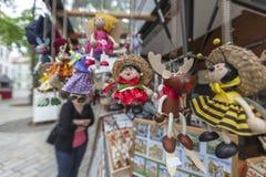 BRATISLAVA, SLOWAKIJE - MEI 07 2013: Gift en Stock Foto's