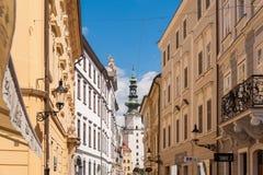 Bratislava St. Michael's gate Royalty Free Stock Image