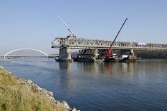 Bratislava Stary la maggior parte del ponte che smonta Fotografia Stock