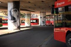 Bratislava street art festival Stock Photos