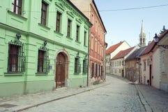 Bratislava street scene Royalty Free Stock Photos