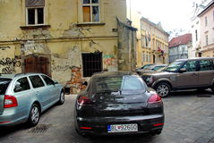 Bratislava. The streets of the old town of Bratislava Royalty Free Stock Photography