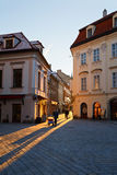 Bratislava. In the streets of the old town in Bratislava, Slovakia royalty free stock photography