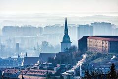 Bratislava tôt Photos stock