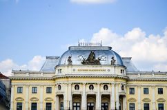 Bratislava theater Stock Photo