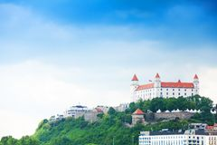 Bratislava town castle Royalty Free Stock Photography