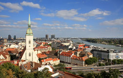 Bratislava view Royalty Free Stock Photos