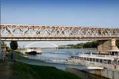 Bratislava - waterfront Danube Stock Image