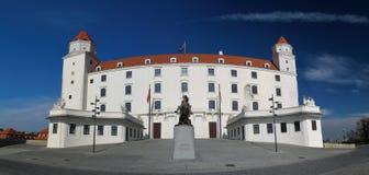 Bratislavsk hrad城堡在布拉索夫 免版税库存图片