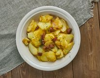 Bratkartoffeln Fotografie Stock Libere da Diritti