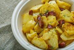 Bratkartoffeln zdjęcia stock
