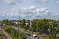 Bratsk, parco & x22; Metallurgov& x22; fotografie stock libere da diritti