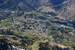Bratto aerial, Italy Stock Image