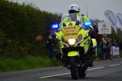 Ovo Energy Tour of Britain Stage Two. Bratton Fleming, Devon, E royalty free stock image