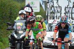 Ovo Energy Tour of Britain Stage Two. Bratton Fleming, Devon, E stock photo