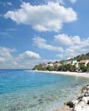 Bratus Makarska Riviera, Adriatiskt hav, Kroatien royaltyfri foto