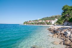 Bratus,Makarska Riviera,Dalmatia,Croatia Royalty Free Stock Photos
