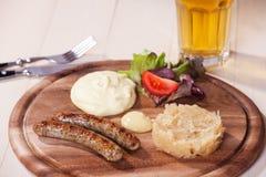 Bratwurst imagens de stock