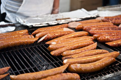 Bratwurst Grill Royalty Free Stock Photos